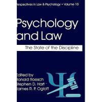 【预订】Psychology and Law: The State of the Discipline Y978030