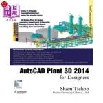【中商海外直订】AutoCAD Plant 3D 2014 for Designers
