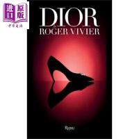 【中商原版】迪奥 罗杰维威耶 英文原版 Dior by Roger Vivier 服装设计