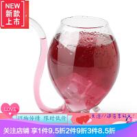 吸血鬼鸡尾酒杯子 个性创意高脚杯起泡酒玻璃葡萄 香槟杯