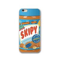 创意个性吃货苹果6s手机壳iphonex手机套7/8plus全包硅胶软壳情侣