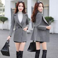 短外套呢子大衣秋冬韩版小个子修身短款显瘦毛呢外套女