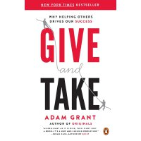 英文原版 沃顿商学院受欢迎的成功课 给与取 Give and Take: Why Helping Others Dri