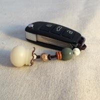 汽车钥匙扣挂件菩提子福钱袋保平安男女情侣创意礼物钥匙串手机链