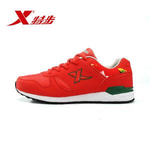 特步秋季时尚潮流男款跑步鞋舒适轻便百搭运动鞋
