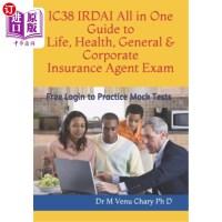 【中商海外直�】IC38 IRDAI All in One Guide to Life, Health, General