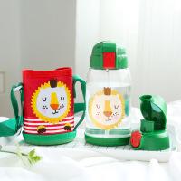 【品质好货】儿童随手杯幼儿园水杯小孩吸管杯防摔可爱卡通女宝宝夏季3-5岁