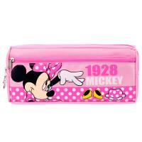 迪士尼(Disney)DM5620-2 米妮/米奇 颜色图案随机 大容量笔袋多功能学生文具袋铅笔袋 当当自营