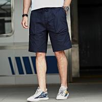 Jeep/吉普官方正品休闲短裤P212MWP107