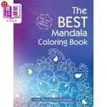 【中商海外直订】The Best Mandala Coloring Book
