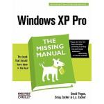 【预订】Windows XP Pro: The Missing Manual: The Missing Manual