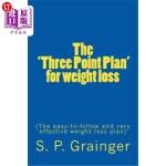 【中商海外直订】The 'Three Point Plan' for weight loss: The easy-to