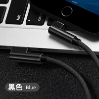 苹果6s数据线Phone7plus 5s ipda4手机8p拆机线充电线器 黑色1米 苹果弯头