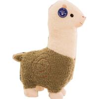 羊驼按摩枕 日式羊驼按摩枕按摩器抖音毛绒玩具娃娃公仔可爱睡觉抱枕 BX 按摩羊驼+小羊驼公仔 40厘米-49厘米