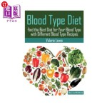 【中商海外直订】Blood Type Diet [Second Edition]: Featuring Blood T