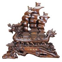 一帆风顺帆船摆件客厅酒柜家居装饰品办公室桌开业礼物品
