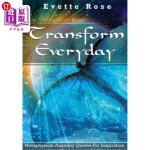 【中商海外直订】Transform Everday: Metaphysical Anatomy Quotes for