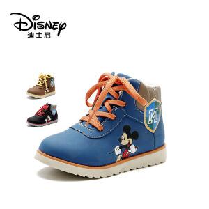 【达芙妮集团】迪士尼 男童运动鞋男童鞋秋冬季米妮系带中大童男孩鞋儿