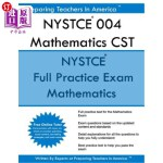 【中商海外直订】NYSTCE 004 Mathematics CST: NYSTCE Mathematics