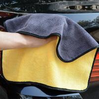 双面车用洗车毛巾吸水抹布汽车专用多功能擦车布不掉毛