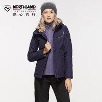 【过年不打烊】诺诗兰新款GORE-TEX女防水加厚保暖潮牌冲锋衣GS072506