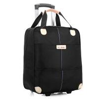 2018082818190923120寸行李包手提旅行包拉杆包女轻便拉包可爱韩版尼龙拉杆包旅行袋