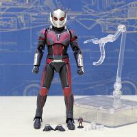 蚁人2模型公仔 漫威复仇者联盟玩具摆件关节可动人偶 送可乐
