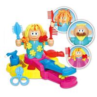 剪发模具工具像皮泥面条机玩具儿童理发师彩泥橡皮泥挤头发