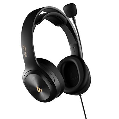 EDIFIER/漫步者 USB K5000模拟考试耳机网课教育口语训练专用耳麦 专业考试耳机 呵护听力 即插即用