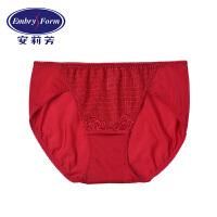 【买3免1】安莉芳女士内裤薄款棉质底裆舒适包臀低腰三角裤E2W0034
