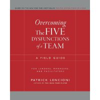 英文原版 克服团队协作的五种障碍 Overcoming The Five Dysfunctions Of A Team