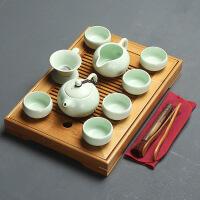 简约竹茶盘整套功夫茶具套装家用储水竹制干泡盘茶海茶台茶小茶道