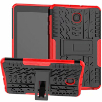 三星Galaxy Tab A 8.0 2018 T387硅胶套保护套SM-T387V支撑外壳