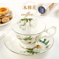 欧式骨瓷咖啡杯碟英式茶具咖啡杯下午茶杯红茶杯花茶杯配碟