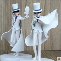 名侦探柯南手办模型 魔术师怪盗基德公仔 鸽子披肩款摆件动漫玩偶