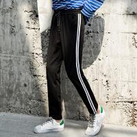 男士裤子秋季新款大学生休闲时尚潮流韩版宽松百搭修身小脚裤