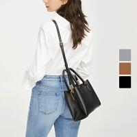【限时直降】 诠释极简优雅 女式袋扣通勤手提包