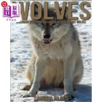 【中商海外直订】Childrens Book: Amazing Facts & Pictures about Wolv