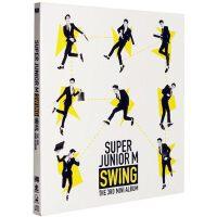 正版 Super Junior-m新专辑 SJ-M swing嘶吼迷你3辑 CD 签名小卡