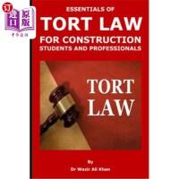 【中商海外直订】Essentials of Tort Law for Construction Students an