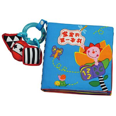 [当当自营]Lalababy 拉拉布书 宝宝的第一本书【当当自营】适合0-3岁,经典畅销款,24页超大超厚