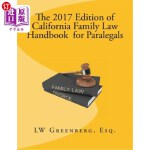 【中商海外直订】The 2017 Edition of California Family Law Handbook