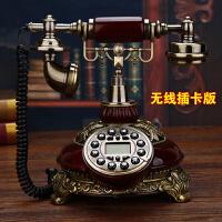 古董仿古调节机座电话机复古老式结婚信息便携式座机设计可用台式