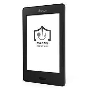 doucon 都看二代 超薄E-ink电子书阅读器 宝石黑 6英寸 1024*758 高清电容触摸屏 支持wifi 多项关键指标超越 kindle