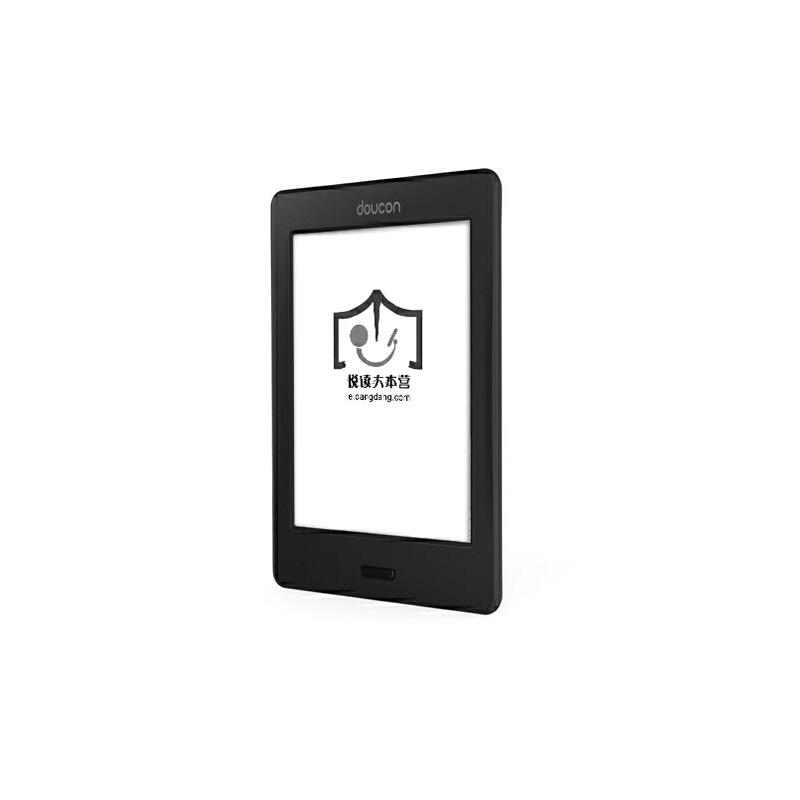 doucon 都看二代 超薄E-ink电子书阅读器 宝石黑 6英寸 1024*758 高清电容触摸屏 支持wifi 多项关键指标超越 kindle *适合中国人阅读习惯的阅读器