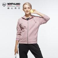 【过年不打烊】诺诗兰新款户外女式运动休闲保暖卫衣GL072608