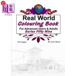 【中商海外直订】Real World Colouring Books Series 59