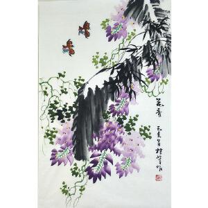 中国美协会员,龙门书画院院长侯桂峰(花香) 65