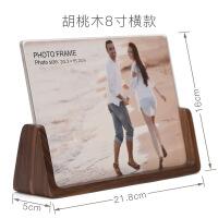 实木相框八寸木质欧式亚克力六寸七寸创意照片7寸摆台韩版 尺寸
