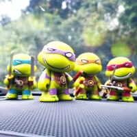 关节可动 忍者神龟TMNT公仔手办忍者龟儿童玩具人肉摆件模型礼物